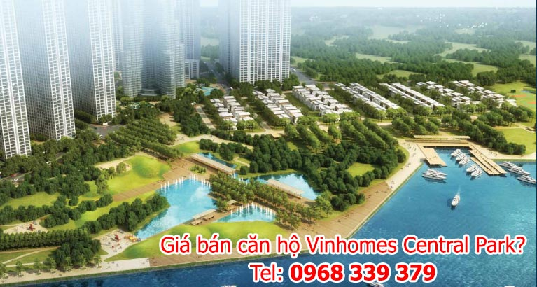 gia ban can ho vinhomes central park