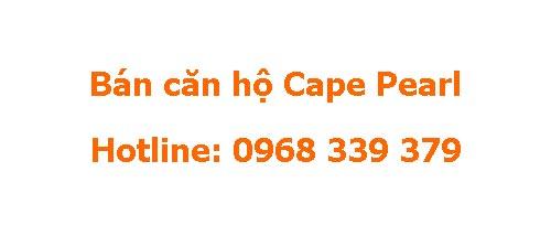 Bán căn hộ Cape Pearl Thanh Đa