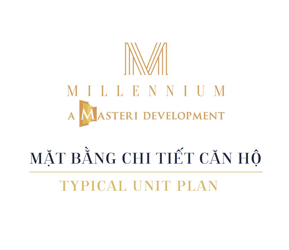 Mặt bằng căn hộ Millennium Masteri