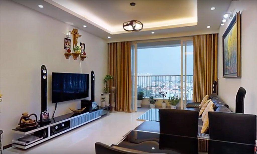 Cho thuê căn hộ Thảo Điền Pearl 3 phòng ngủ