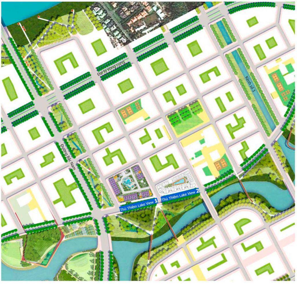 Dự án căn hộ Thủ Thiêm Lake View của CII